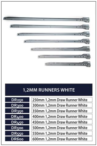 1,2MM RUNNERS WHITE