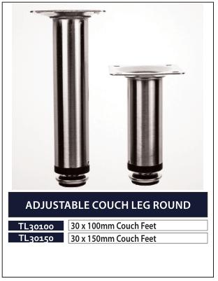 ADJUSTABLE COUCH LEG ROUND