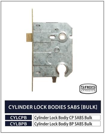 CYLINDER LOCK BODIES SABS (BULK)