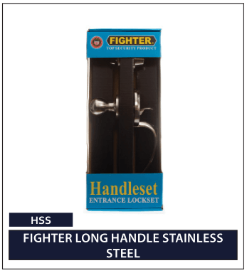 FIGHTER LONG HANDLE STAINLESS STEEL