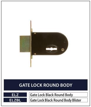 GATE LOCK ROUND BODY
