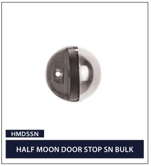 HALF MOON DOOR STOP SN BULK