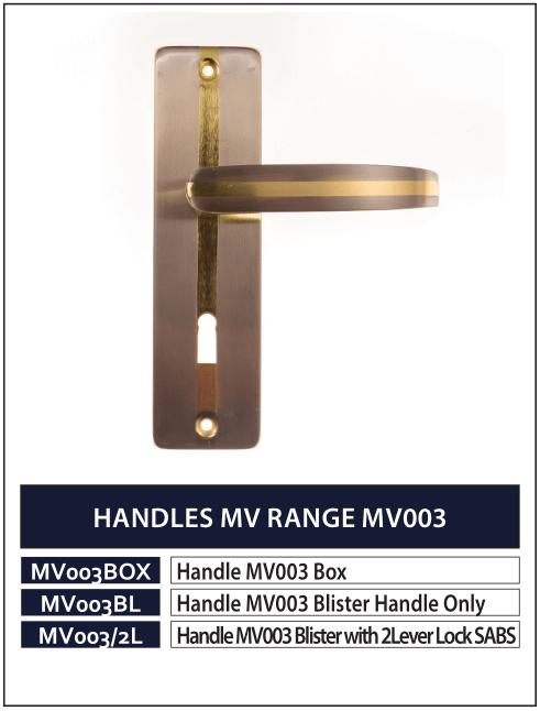HANDLES MV RANGE MV003
