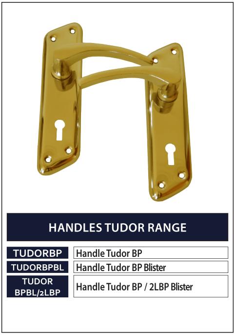 HANDLES TUDOR RANGE GOLD