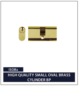 HIGH QUALITY SMALL OVAL BRASS CYLINDER BP