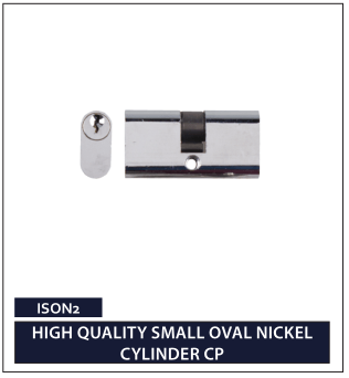 HIGH QUALITY SMALL OVAL NICKEL CYLINDER CP