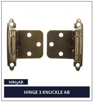HINGE 3 KNUCKLE AB