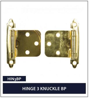 HINGE 3 KNUCKLE BP