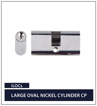 LARGE OVAL NICKEL CYLINDER CP