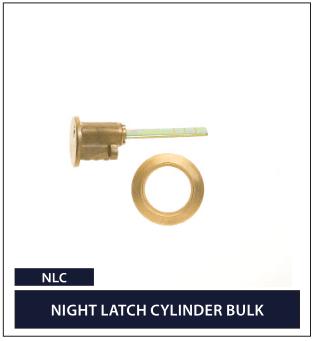 NIGHT LATCH CYLINDER BULK