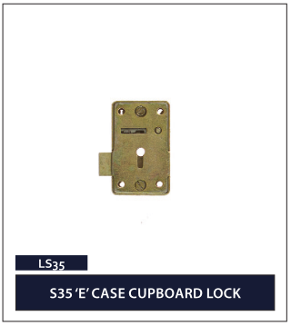 S35 'E_ CASE CUPBOARD LOCK