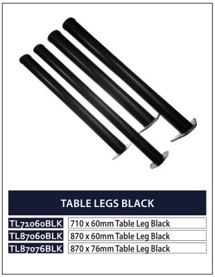 TABLE LEGS BLACK